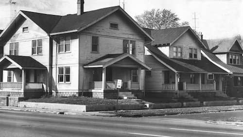 sylvia likens home in 1965