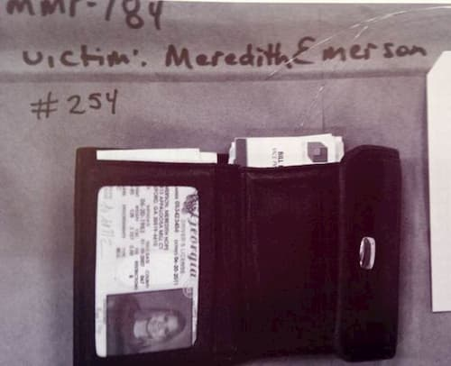 Meredith Emerson wallet