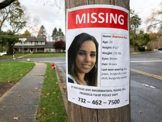 Stephanie Parze missing poster