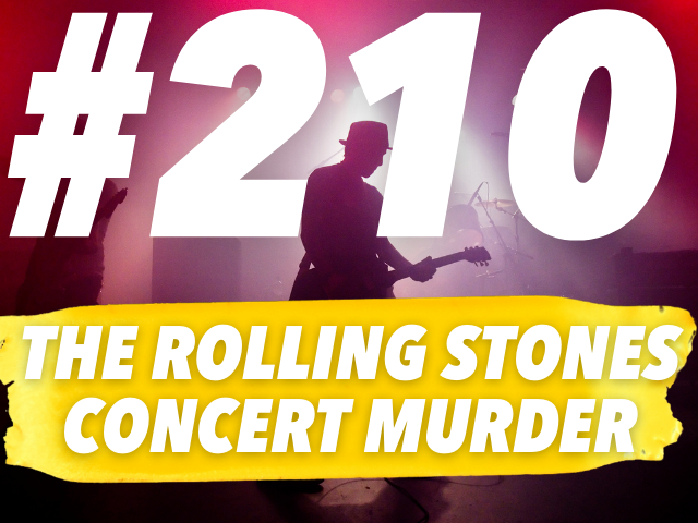 The Rolling Stones Concert Murder of Meredith Hunter