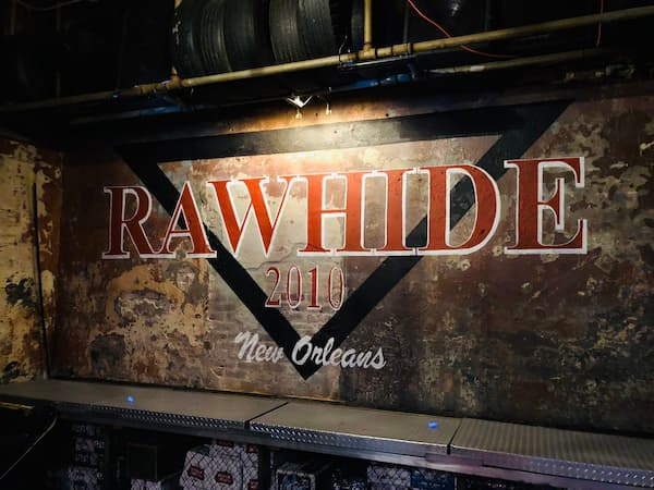 Ronald Dominique picked up Oliver LeBanks at The RawHide, a popular New Orleans gay bar. Yes, it's still there.