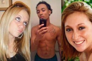 Rachel Wade (left) and Sarah Ludemann (right) were both fighting over Joshua Camacho.