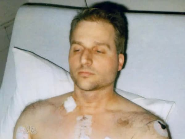 Davallo's husband Paul Chirstos survives, but needs open heart surgery to live.