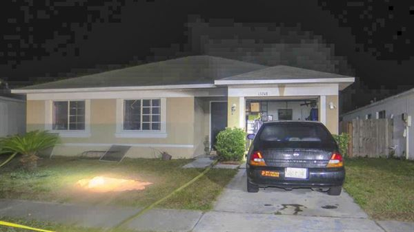 Ronnie Oneal Florida home where he murdered his entire family.