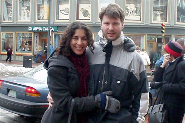 Nelson Sessler and Sheila Davalloo on vacation.